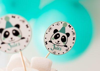 panda caketoppers