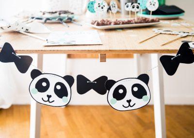 panda guirlande