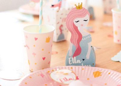 table princesse vaisselle