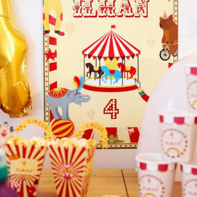 BOX déco Circus