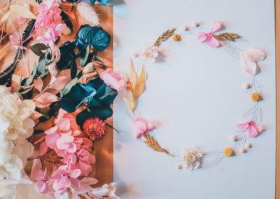 Couronne à fleurir