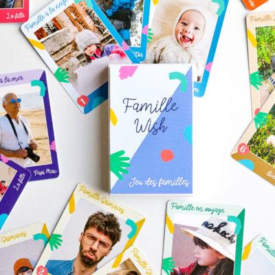 Jeu de 7 familles personnalisé «Colors»