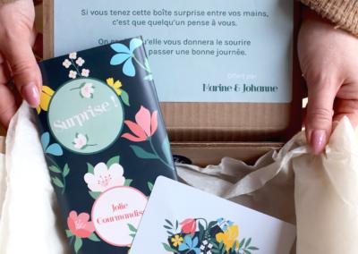 box cadeau pensée photos