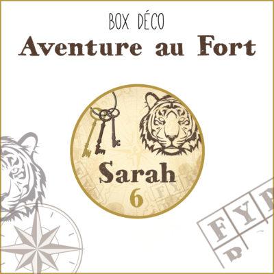 BOX déco Aventure au Fort