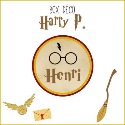 BOX déco Harry P. Magicien