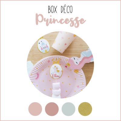 BOX déco Princesse
