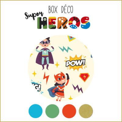 BOX déco Super héros