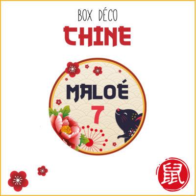 BOX déco Chine