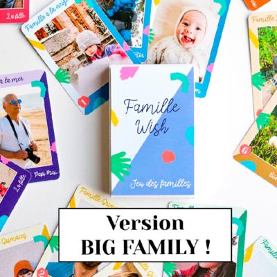 Jeu des familles personnalisé (Big version)