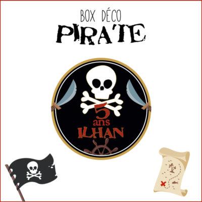 BOX déco Pirate