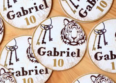 stickers ronds personnalisés fort boyard