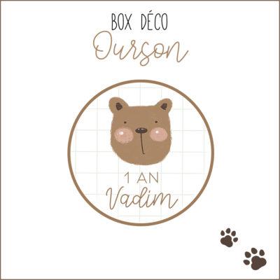 BOX déco Ourson